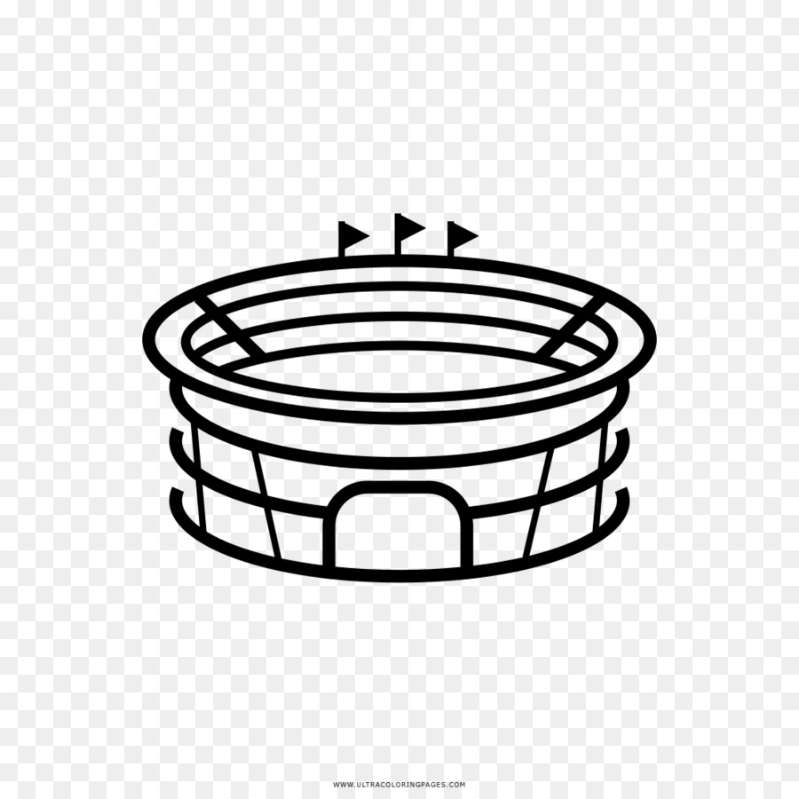 Drawing coloring book stadium line art angle png