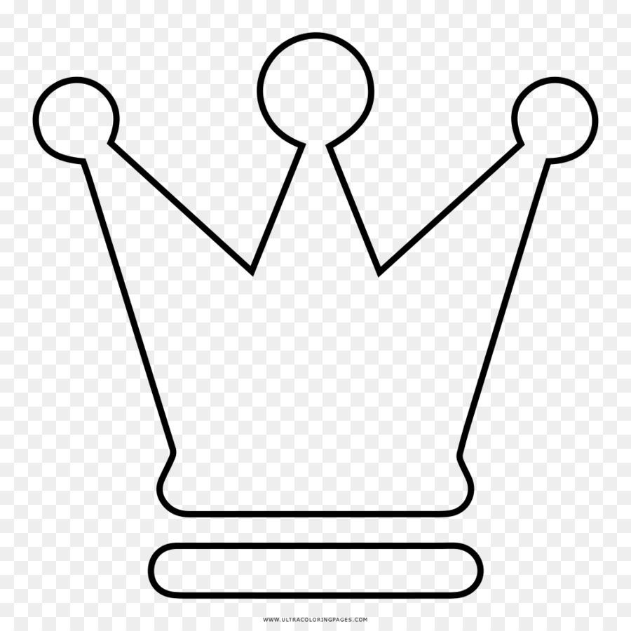 Catur Menggambar Mahkota Buku Mewarnai Ratu Penguasa Catur Unduh