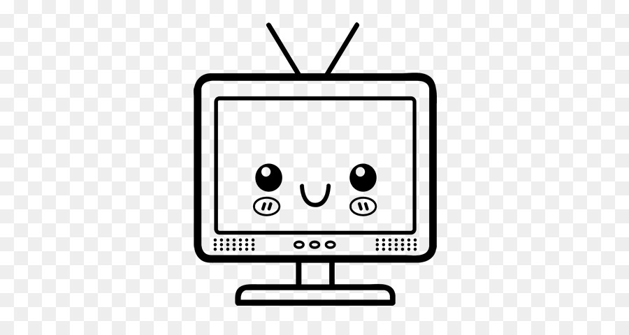 Drawing Computer Television Coloring Book Computer Png Download