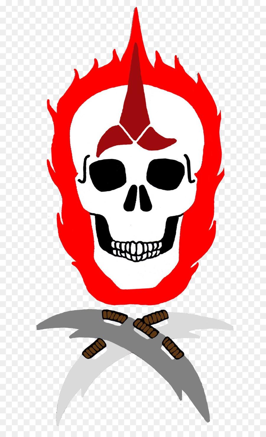 Skull Character Fiction Clip Art Skull Png Download 8161465