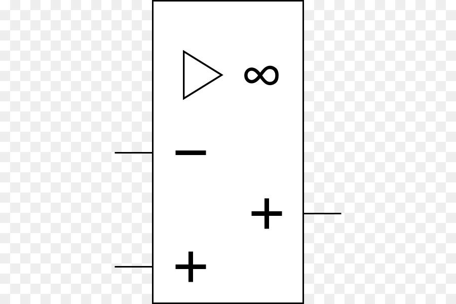 Operational Amplifier Electronic Symbol Circuit Diagram Electronics