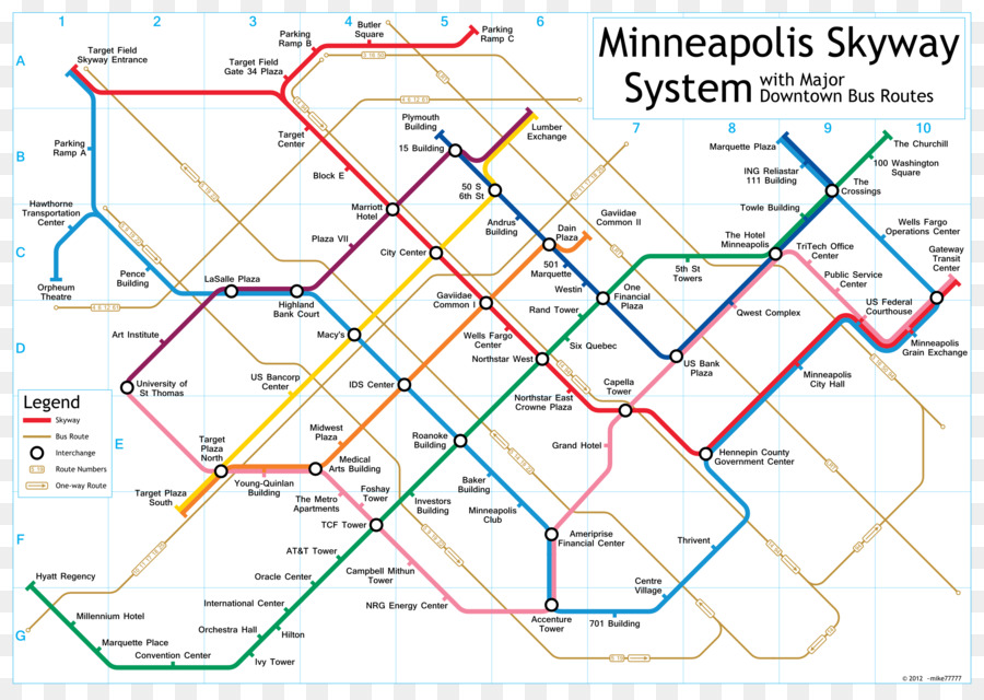 Skyway Theatre Minneapolis Skyway System Map Us Bank Stadium Map - Us-map-minneapolis
