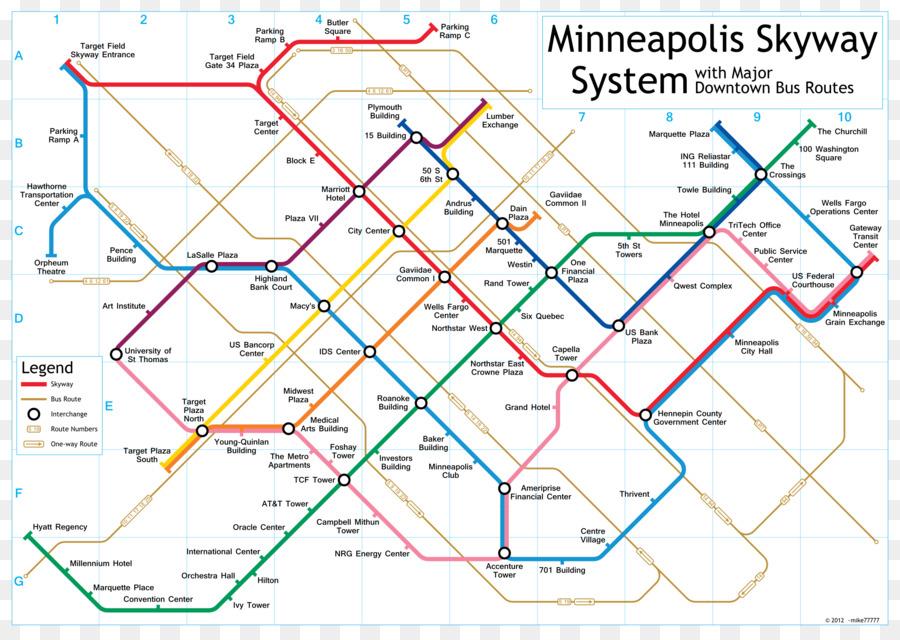 Skyway Theatre Minneapolis Skyway System Map Us Bank Stadium - Map-of-us-bank