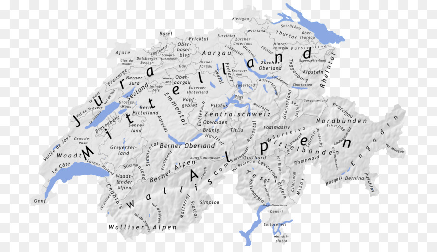Geography Of Switzerland Topographic Map Geography Of Switzerland