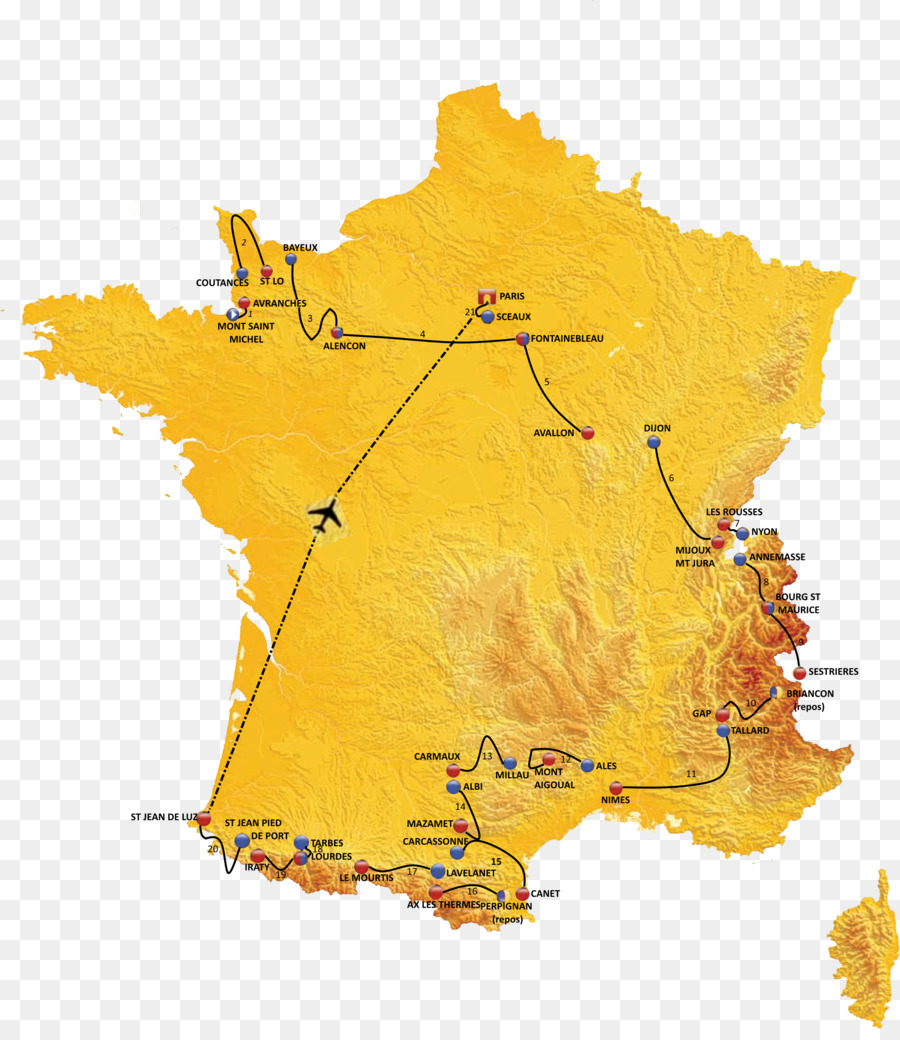 France Map Png.2018 Tour De France 2016 Tour De France Map 2019 Tour De France