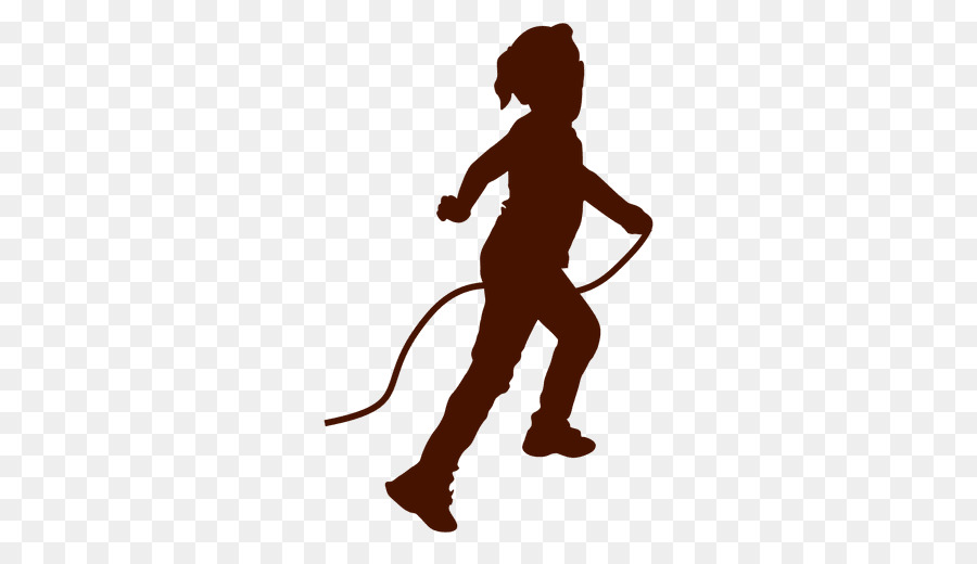 child silhouette jump ropes drawing child png download 512 512