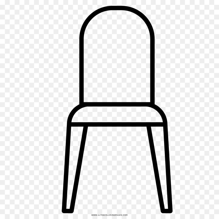 Chair Furniture Table Coloring book Drawing - chair png download ...