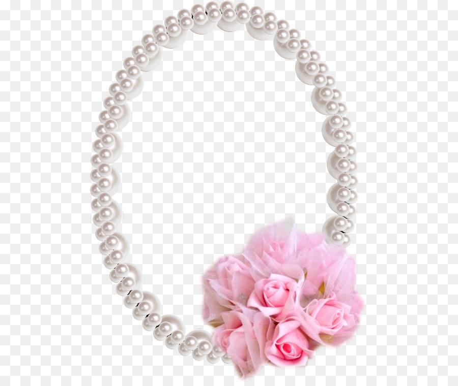 Collar De Perlas De Marcos De Imagen Fotografía De Scrapbooking ...