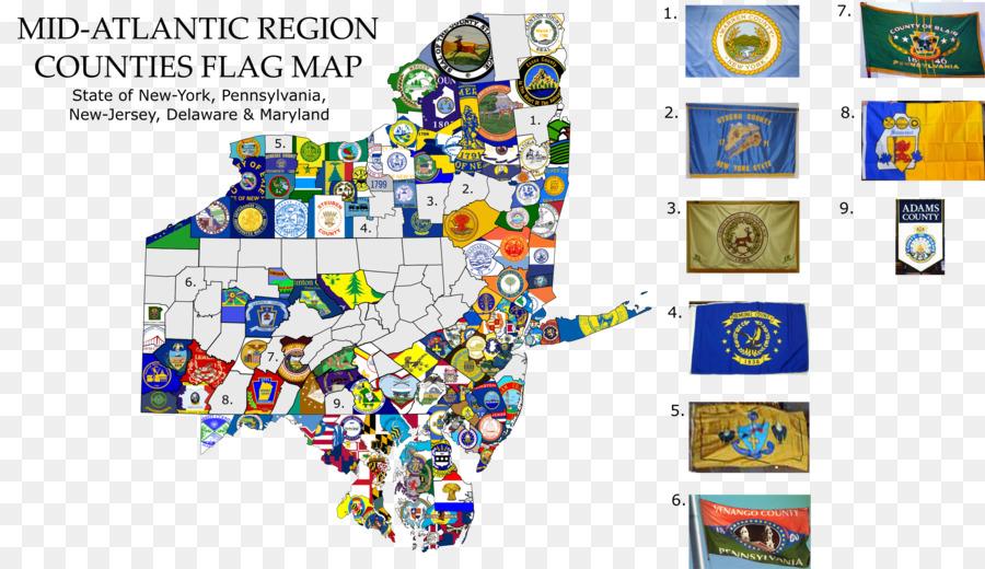 Bandera de Maryland Mapa de la Bandera de la bandera del Estado de ...