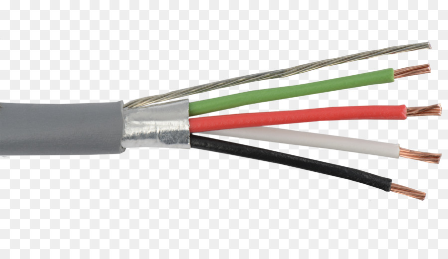 Shielded cable American wire gauge Electrical cable Electrical Wires ...
