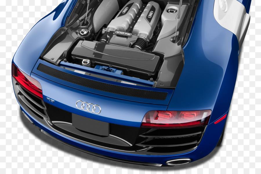 Audi R Audi R Car V Engine Car Png Download - Audi r8 engine