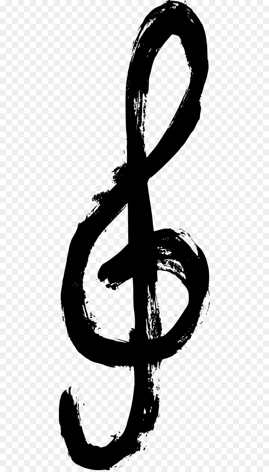 Note De Musique Grunge Clip Art Note De Musique Téléchargement Png