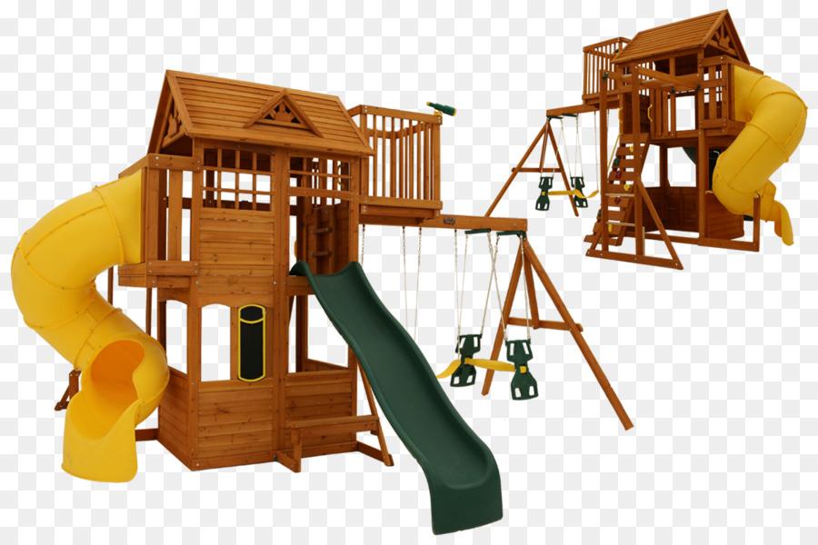 Swing gimnasio de la Selva Escalada tobogán - los niños del marco de ...