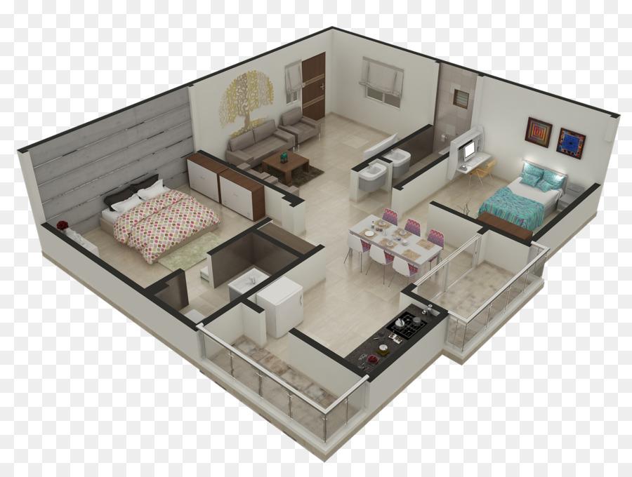 3d Grundriss Wohnung Haus Planen Wohnung Png Herunterladen 1600