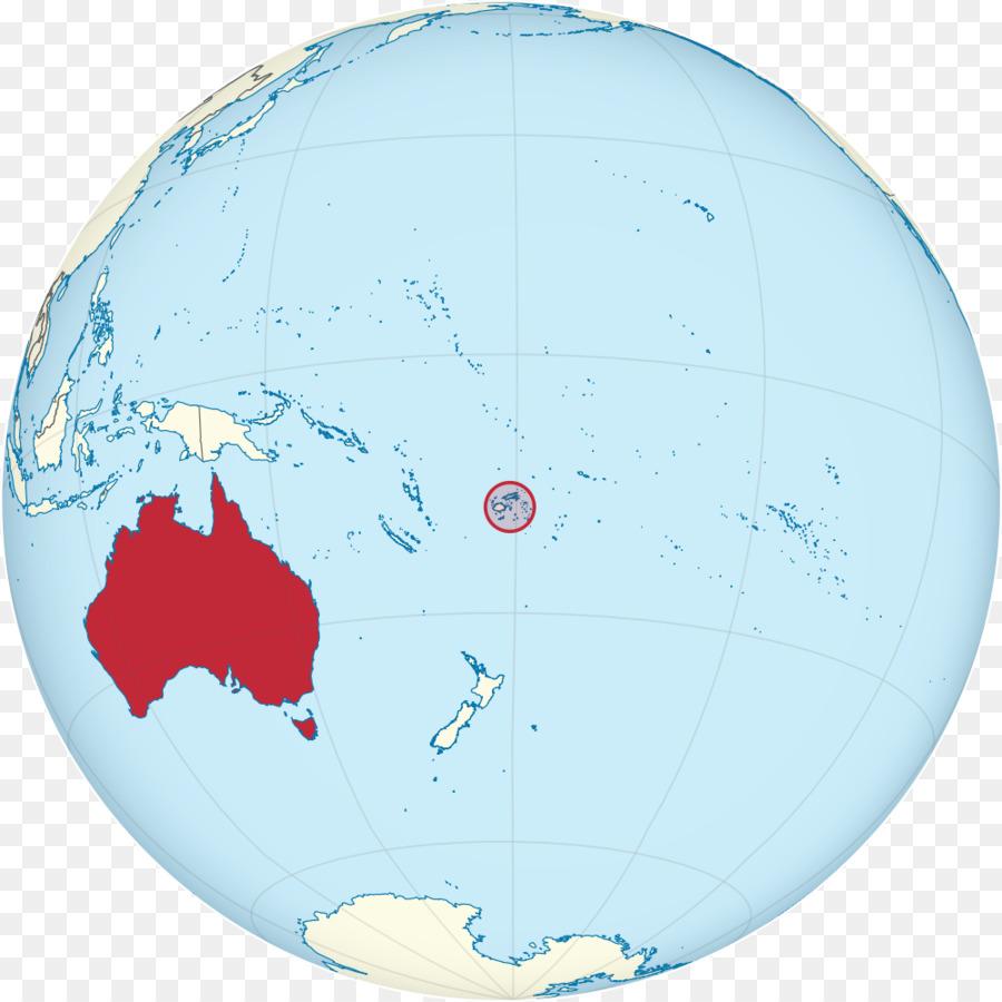 Coral Sea Islands Tonga Nepean Island Map - map png download - 1000 ...