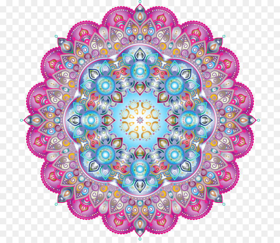 Mandala Drawing Color Mandala Png Download 772772 Free
