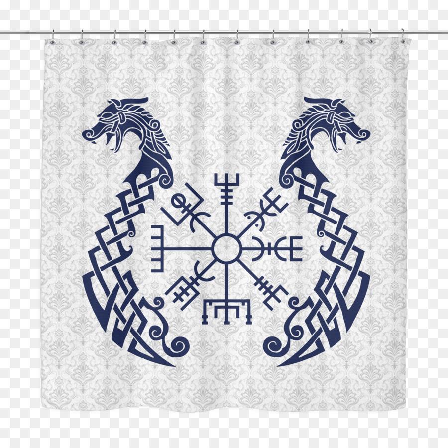 Viking Age Vegvsir Icelandic Magical Staves Runes Symbol Symbol
