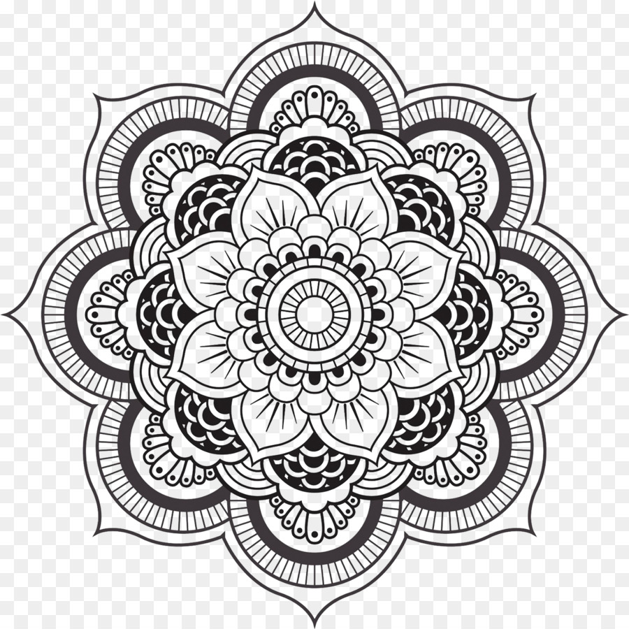 Mandala Coloring book Meditation Geometric shape Child - buddhist ...