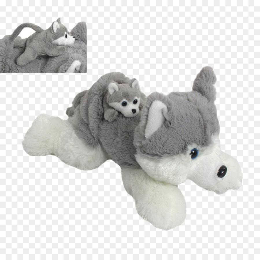Stuffed Animals Cuddly Toys Siberian Husky Alaskan Klee Kai Puppy