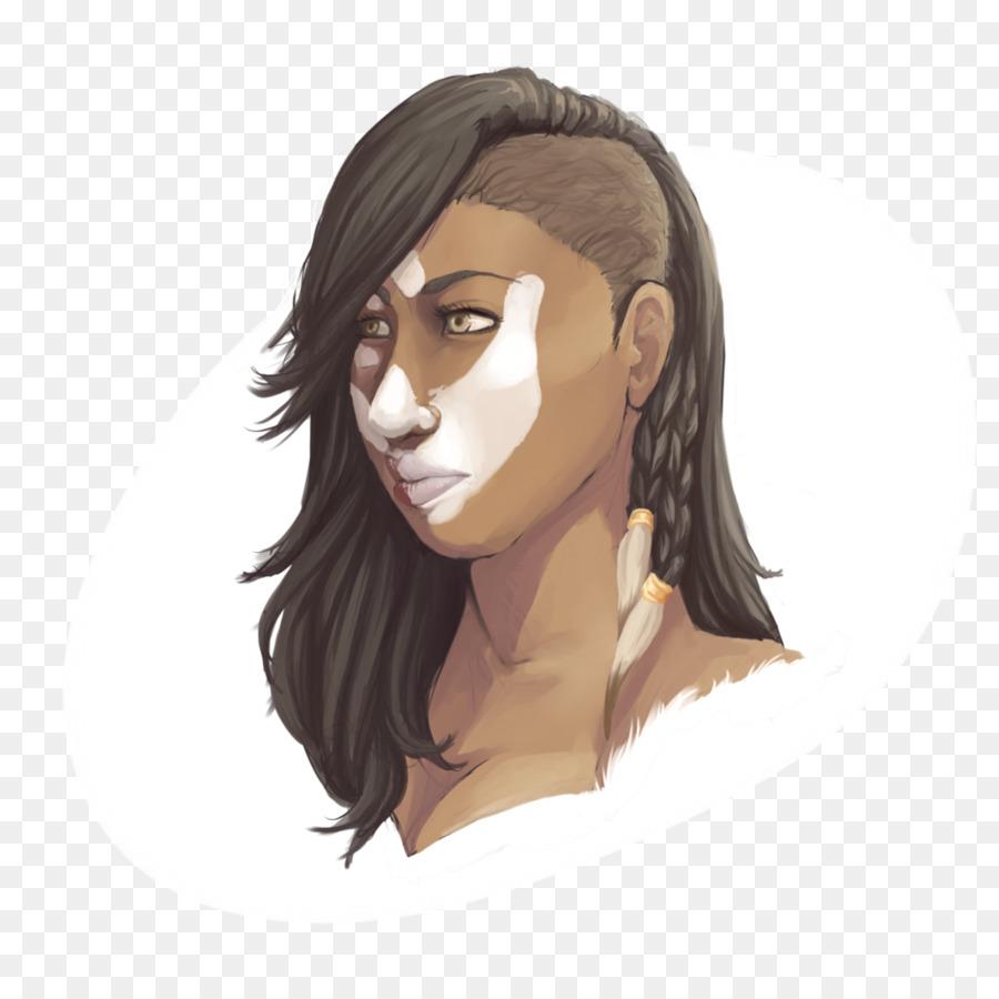 Гильдия войны 2 фан-арт персонажа норны свирепое выражение png.