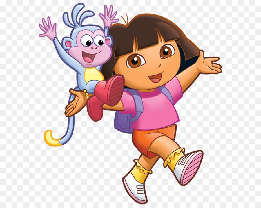 Dance Dora Marquez Cartoon Clip Art Peppa Dinasaour Png Download