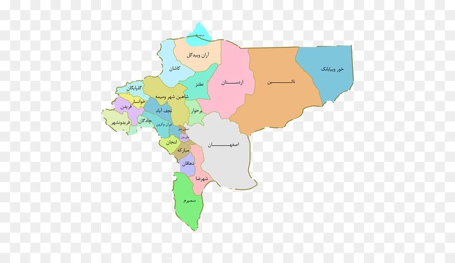 Isfahan Kashan Khomeyni Shahr Ardestan Counties of Iran - South ...