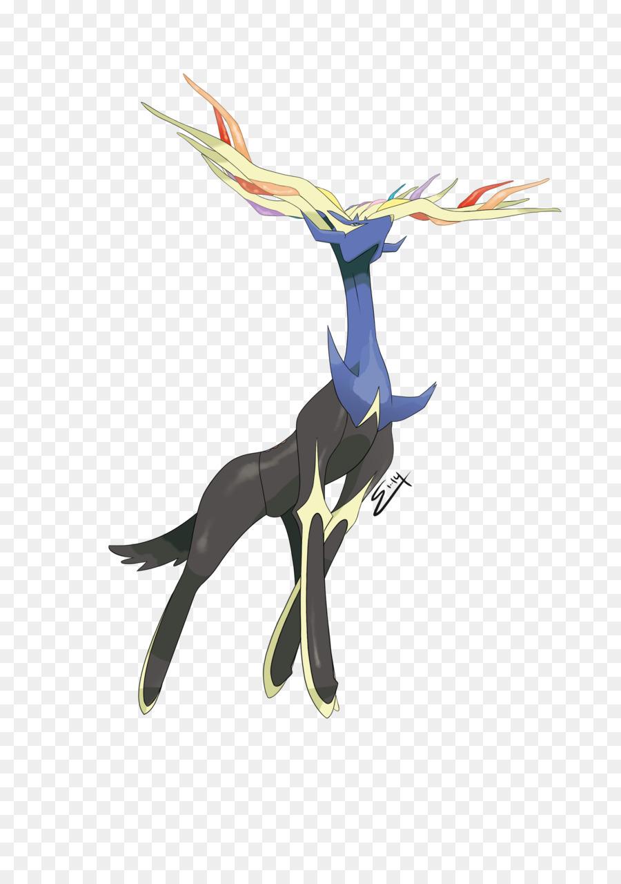 Xerneas Pokémon Omega Ruby and Alpha Sapphire Ash Ketchum Drawing ...