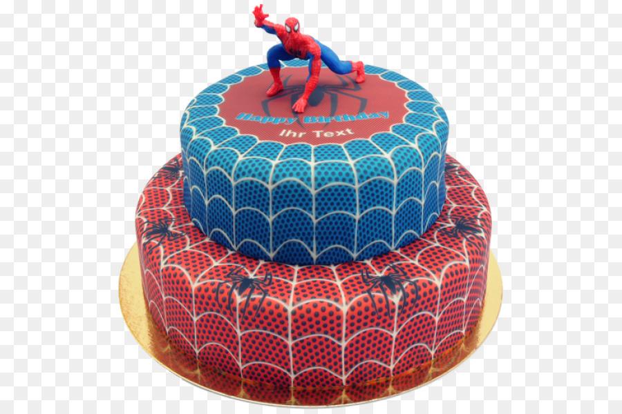 Birthday Cake Sachertorte Spider Man Decorating