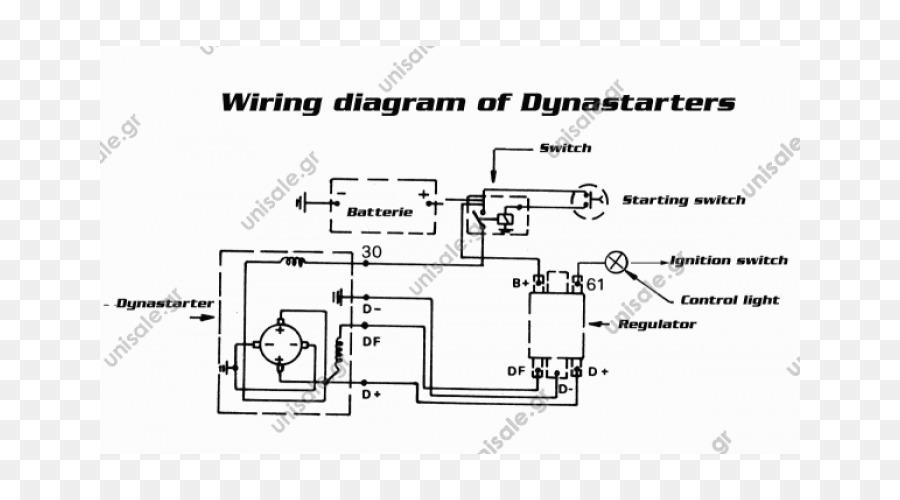 wiring diagram, dynastart, starter, text, technology png
