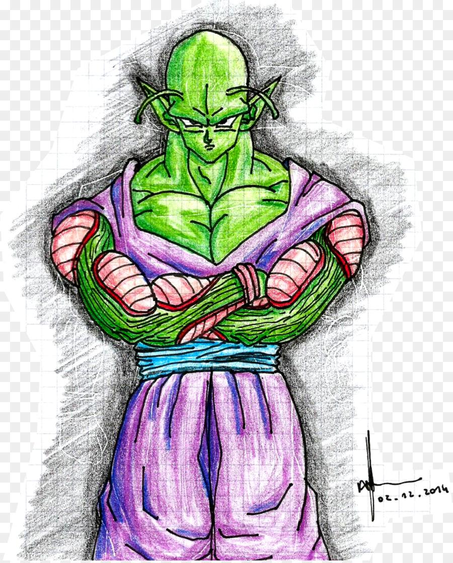 Piccolo Goku Zeichnung Skizze Son Goku Png Herunterladen 1291