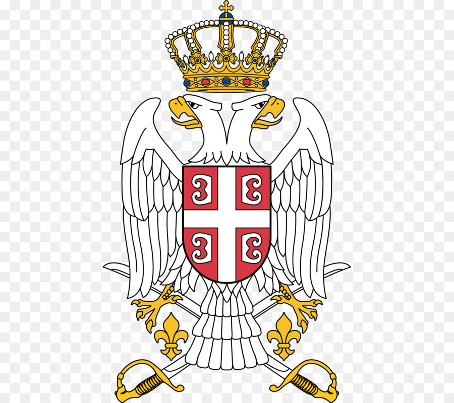 Coat Of Arms Of Serbia Symbol Serbian Eagle Symbol Png Download