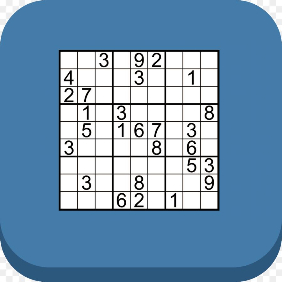 Sudoku Text png download - 1024*1024 - Free Transparent