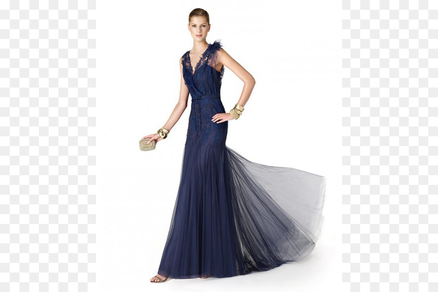 Party dress Navy blue Evening gown - dress png download - 600*600 ...