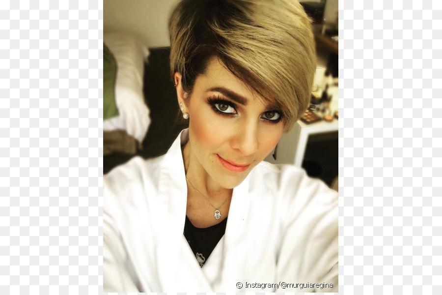 Regina Murguia Hairstyle Pixie Cut Blond Hair Png Download 620