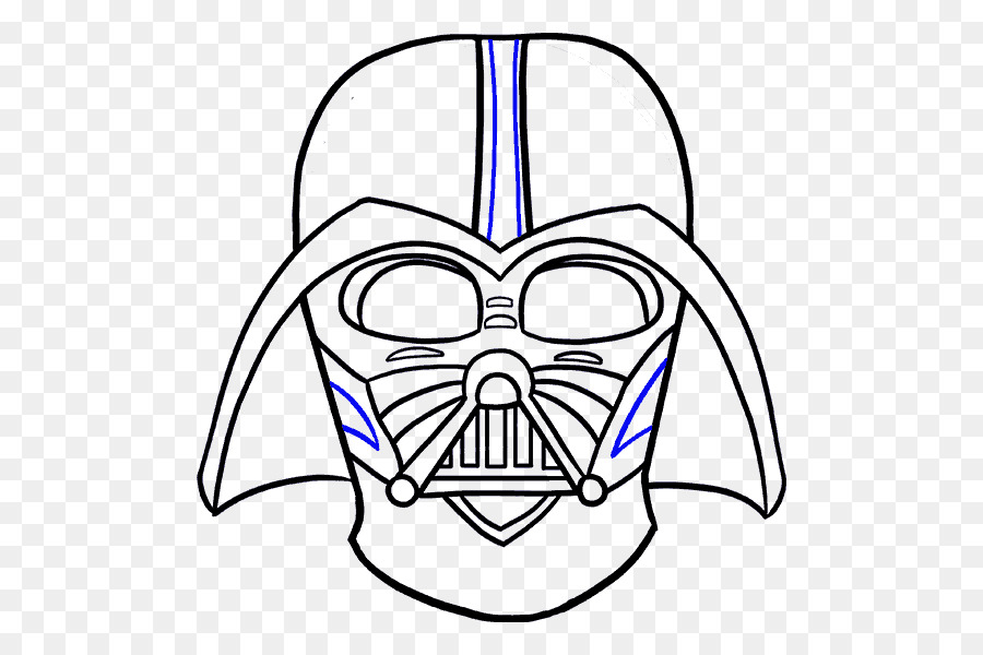 Anakin Skywalker En Darth Maul Dibujo De Luke Skywalker - casco de ...