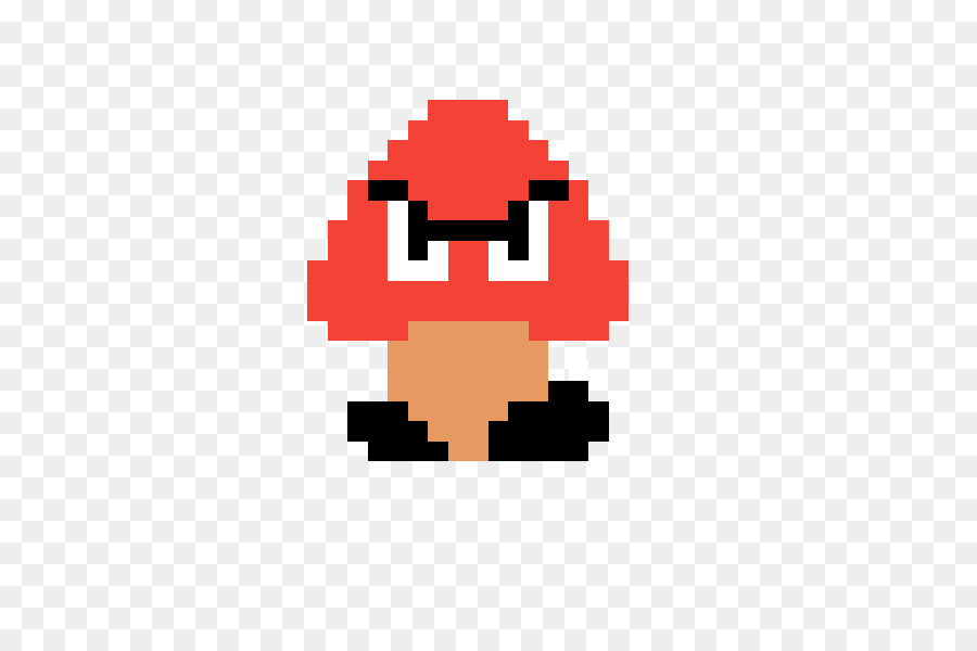 Super Mario Bros Goomba Rosalina 8 Bit Mario Bros Png Download