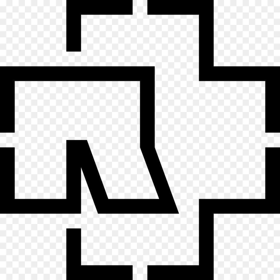 Rammstein logo liebe ist für alle da text white png