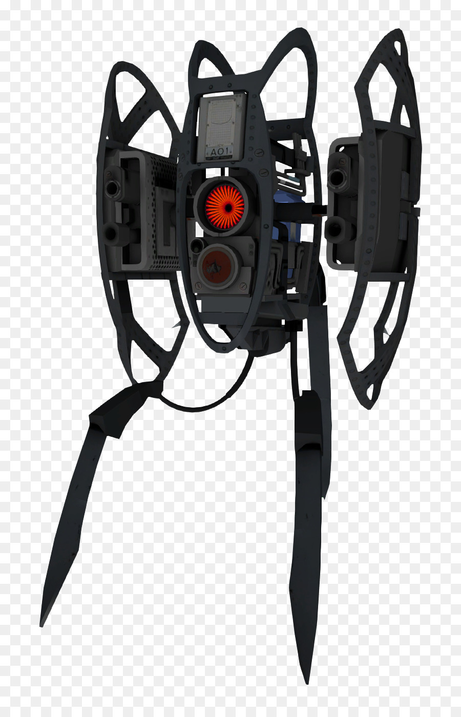 Portal 2 Team Fortress Turret Video Game