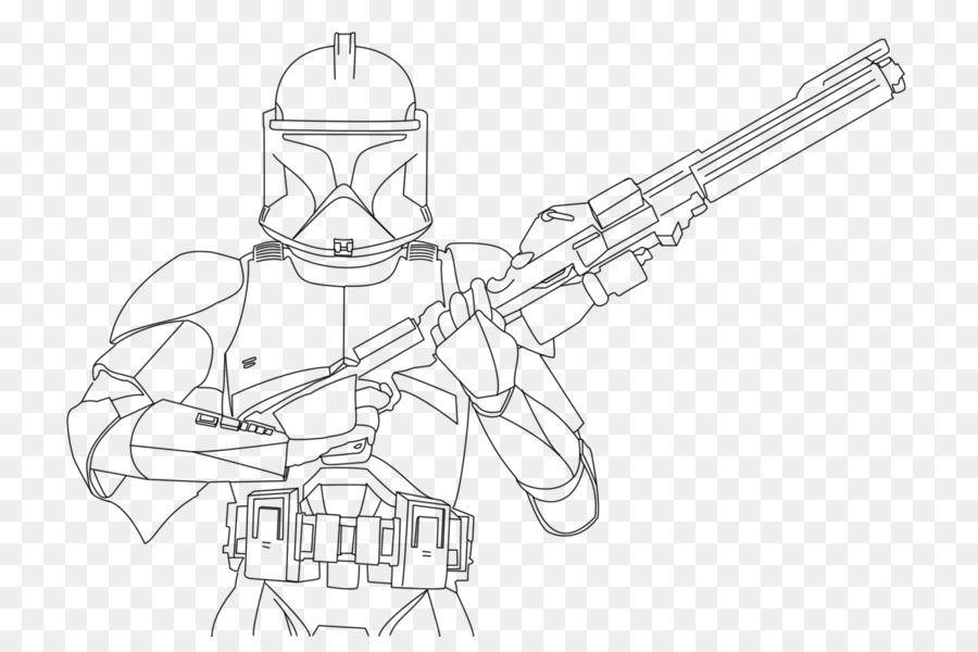 Clone trooper de Star Wars: The Clone Wars Capitán Rex Plo Koon ...