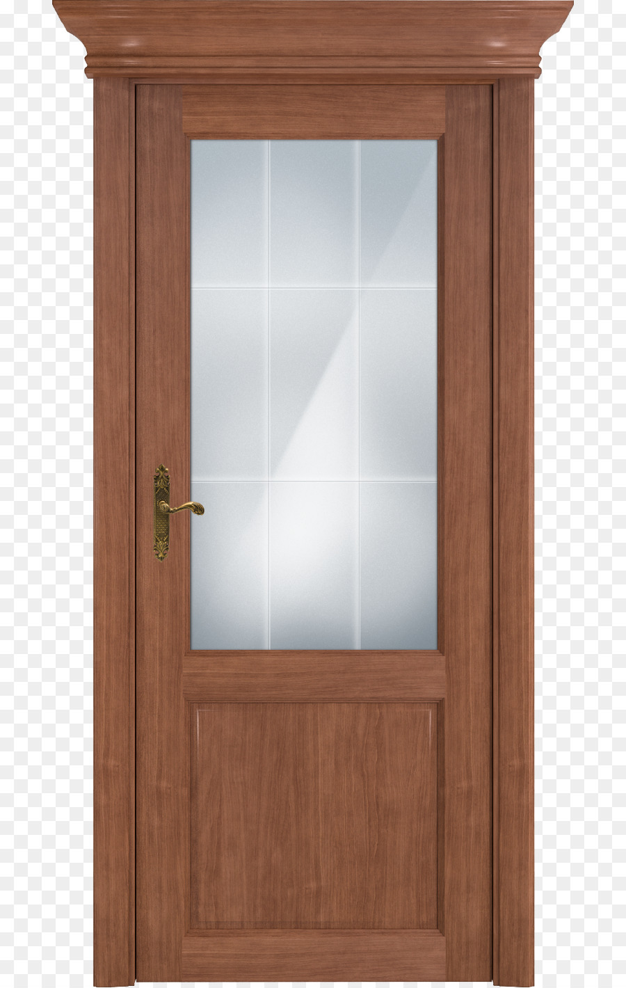 Minsk Door Oak Stained Glass Door Png Download 7501419 Free