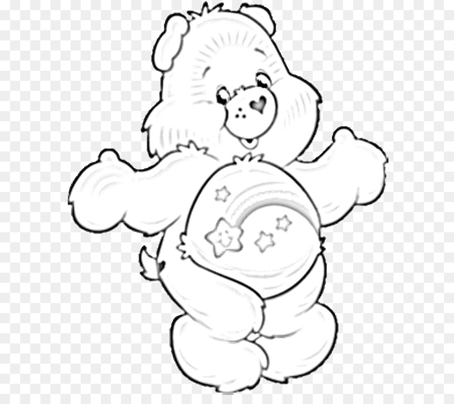 Care Bears Coloring book Drawing Clip art - bear png download - 640 ...