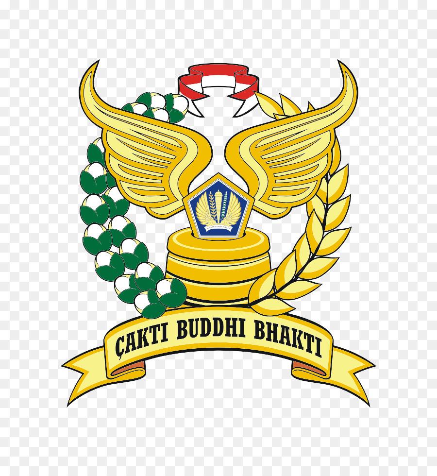 Pajak Indonesia Direktorat Jenderal Logo Cdr Padi Kapas Gambar