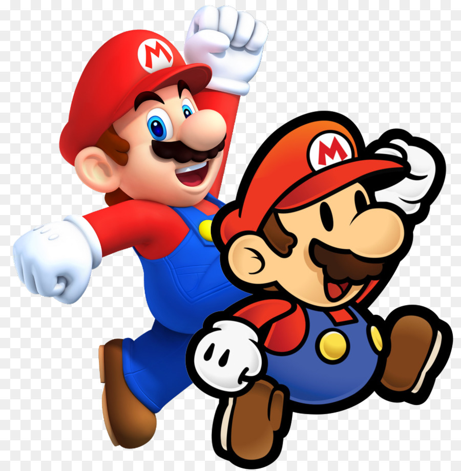 Super mario bros mario paper mario sticker star play ball png