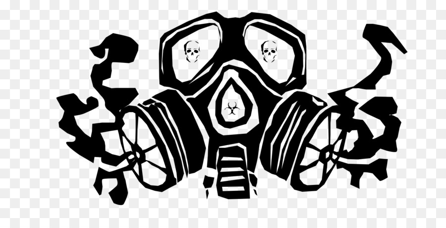 how to draw a graffiti gas mask