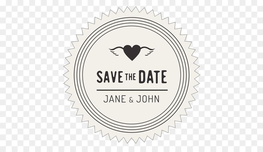 Wedding Invitation Save The Date Logo Font Wedding Png Download