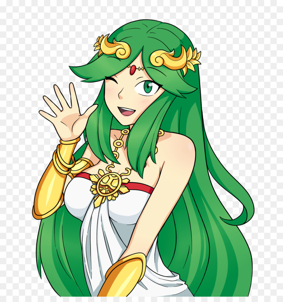 Kid Icarus Uprising Super Smash Bros For Nintendo 3DS And Wii U Palutena Fan Art
