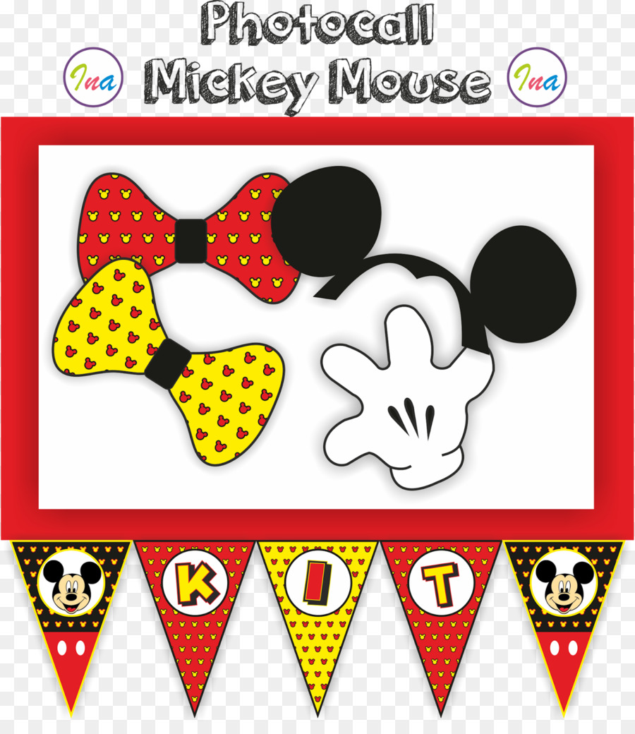 Minnie Mouse Mickey Mouse Party Birthday - minnie mouse png download ...