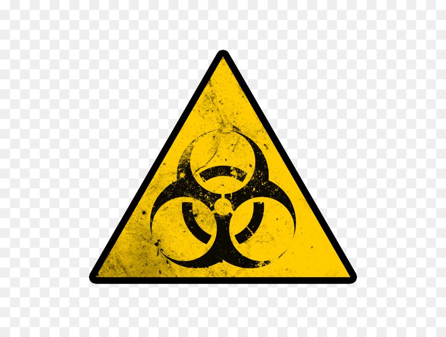 Biological Hazard Hazard Symbol Sign Meaning Symbol Png Download