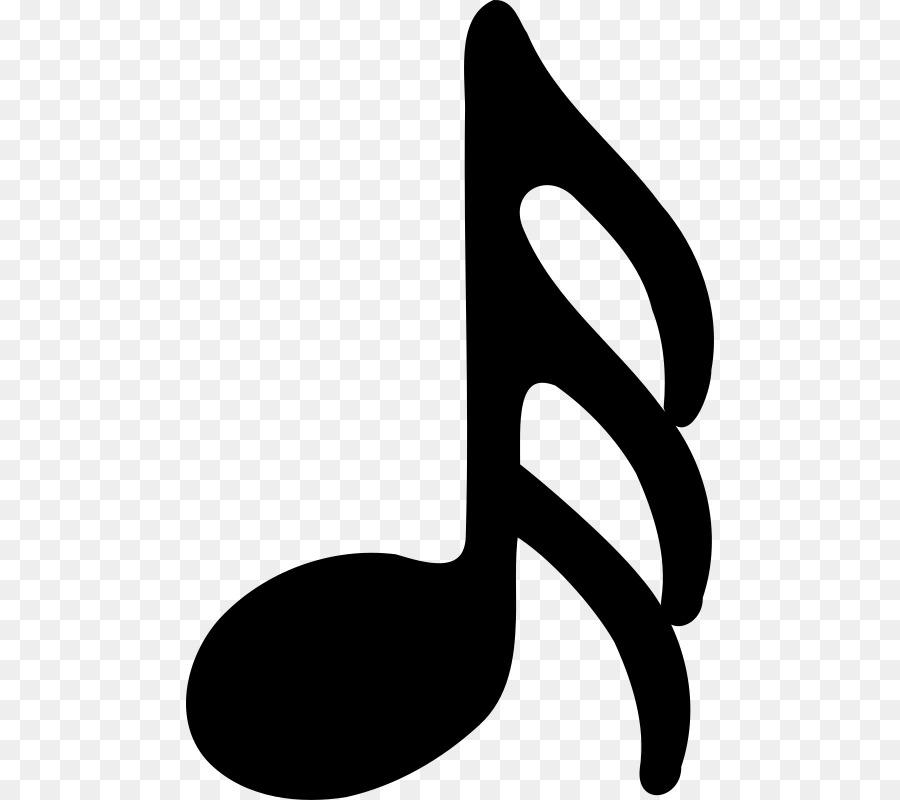 Seizième Note Note De Musique Trente Deuxième Note Croche Reste