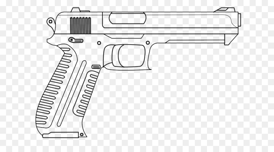 Pistola De Dibujo De Arma De Fuego Arma De Croquis